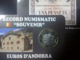 EUROS ANDORRE  1 EUROS MAISON DU VAL - Andorra