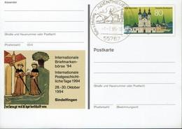 Deutschland - BRD 1994 - Sindelfingen - 1250Jahre Fulda - MiNr PSo36 - Bildpostkarten - Ungebraucht