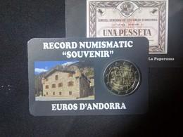 EUROS ANDORRE  2 EURO ECUSON - Andorra