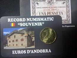EUROS ANDORRE  0.50  CTS  EURO ROMANIC - Andorra