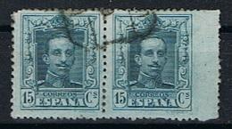 Spanje Y/T 277 (0) 2X Rechterzijde Ongetand. - 1889-1931 Kingdom: Alphonse XIII