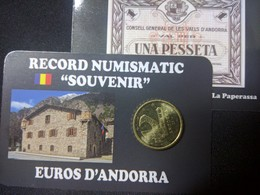 EUROS ANDORRE  0.20  CTS  EURO ROMANIC - Andorre