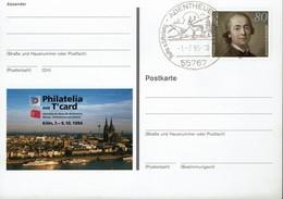 Deutschland - BRD 1994 - Philatelia Köln - J-G. Herder - MiNr PSo35 - Bildpostkarten - Ungebraucht