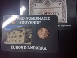 EUROS ANDORRE  0.05  CTS  EURO ISARD 2017 - Andorra
