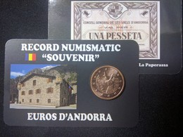 EUROS ANDORRE  0.02  CTS  EURO ISARD - Andorra
