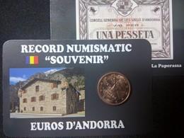 EUROS ANDORRE  0.01  CTS  EURO ISARD - Andorra