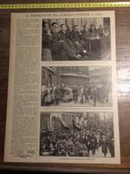 ANNEES 20/30 LA MANIFESTATION DES JEUNESSES PATRIOTES  A LILLE - Colecciones