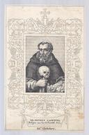 OUD OLD GZ. PETRUS CAPPUCCI BELYDER VAN HET PREDIKHERENORDER 22e OCTOBRE VERSO GLZ. SIMON BALLACCHI S. ARCHANGELI RIMINI - Images Religieuses