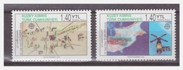 1032 Cyprus Turk 2006 50 Years Eupopa Europe CEPT Space MNH - 2006