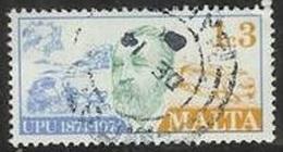 1974 1c3m UPU, Used - Malta
