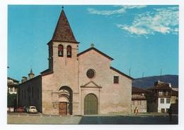 CARTE POSTALE PC POSTCARD  POSTCARD PORTUGAL CHAVES CHURCH & CLASSIC CAR CARS 70s - Vila Real
