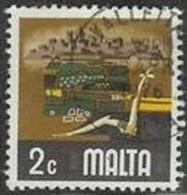 1973 2c Agriculture, Used - Malta