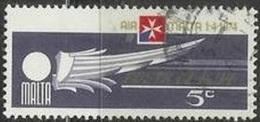 1974 5c Air Malta, Used - Malta