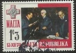 1975 1c3m Republic, Used - Malta