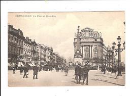 BRUXELLES - LA PLACE DE BROECKERE - Squares