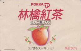Télécarte Japon / 110-105101 - Fruit POMME - APPLE Fruit Japan Phonecard - APFEL Obst TK - 66 - Alimentation