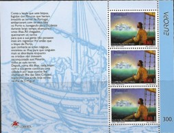 PORTUGAL Açores 1997 Europa Légendes, 1 SS MNH - Europa-CEPT