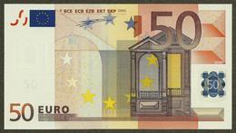 Portugal - 50 Euro - H007 A4 - M90098662882 - Duisenberg - UNC - EURO