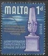1965 1d Phoenician, Used - Malta