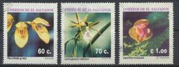 °°° EL SALVADOR - Y&T N°1246/47/51 - 1995 °°° - El Salvador