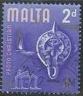 1965 2d Chrisman, Used - Malta