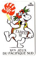 POLYNESIE FRANCAISE PF 35 10eme Jeux Du Pacifique Sud - Polynésie Française
