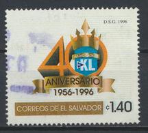 °°° EL SALVADOR - Y&T N°1280 - 1996 °°° - El Salvador