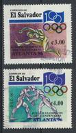 °°° EL SALVADOR - Y&T N°1283/84 - 1996 °°° - El Salvador