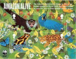 GROSSBRITANNIEN GRANDE BRETAGNE GB 2011 Wildlife Fund Sheet MS SG MS3172 SC SH2893 MI BLOCK64-3077-80 YV BF82-3460-63 - 1952-.... (Elizabeth II)