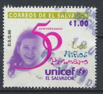 °°° EL SALVADOR - Y&T N°1296 - 1996 °°° - El Salvador