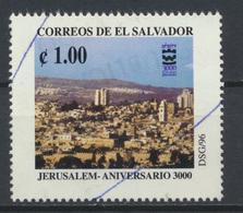°°° EL SALVADOR - Y&T N°1297 - 1996 °°° - El Salvador