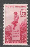 Italy Kingdom 1936 Oraziano Sassone#404 Mi#553 Mint Hinged - 1900-44 Victor Emmanuel III