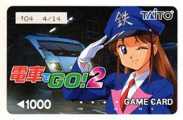 JAPON MANGA GAME CARD TAITO - BD