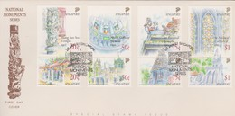 Singapore 1991 National Monuments FDC - Singapore (1959-...)