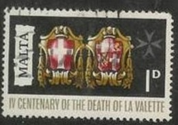 1968 1d La Valette, Used - Malta