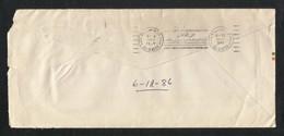 India To Saudi Arabia 1986 AL HASA Slogan Postmark Postal Used Cover Stamp Gandhi - Saudi Arabia