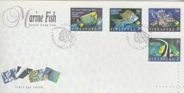 Singapore 1995 Marine Fish FDC - Singapore (1959-...)