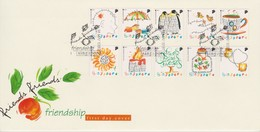 Singapore 1997 Greetings - Friendship FDC - Singapore (1959-...)
