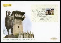 Bund MiNr. Block 72 Ersttagsbriefe/ FDC Limes (GF12236 - [7] República Federal