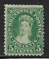 Canada New Brunswick Scott # 8 Unused No Gum Victoria, 1860 - New Brunswick