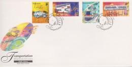 Singapore 1997 Transportation Definitive High Values FDC - Singapore (1959-...)