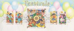 Singapore 1998 Festivals FDC - Singapore (1959-...)