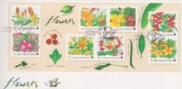 Singapore 1998 Flowers Miniature Sheet FDC - Singapore (1959-...)