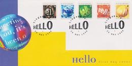 Singapore 1998 Hello FDC - Singapore (1959-...)
