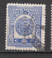 ##22, Pérou, Peru, Revenue Stamp, Timbre Fiscal, Surimpression, Overprint - Pérou