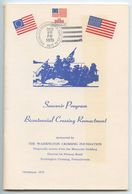 United States 1976 Washington Crossing Delaware Bicent. Reenactment Program - Event Covers