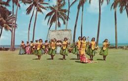 Hawaii Honolulu Hula Dancers Kodak Hula Show - Honolulu