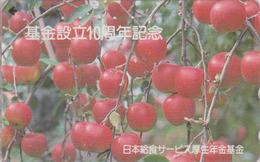 Télécarte  Japon / 110-011  - Fruit - POMME - APPLE Fruits Japan Phonecard - APFEL Obst TK - 101 - Alimentation