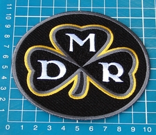 """DAN ROONEY 2017 MEMORIAL COMMEMORATIVE 4"""" PITTSBURGH STEELERS PATCH EMBROIDERED - Pittsburgh Steelers"""