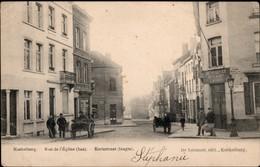 "KOEKELBERG :  Rue De L'Eglise (Bas)  Estaminet : ""Au Pompier"" - Koekelberg"